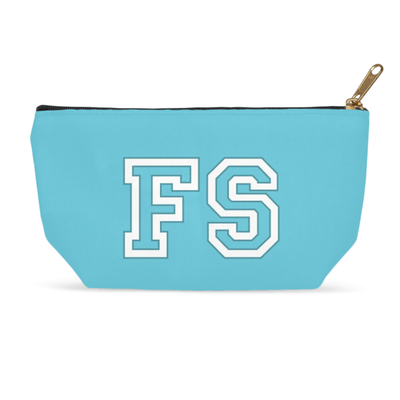 Personalized Accessory Bag - Blue