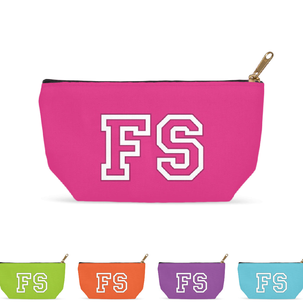 Team Bold Monogram Accessory Bag