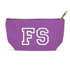 Personalized Makeup Bag - Purple