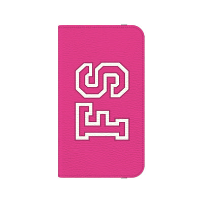 Team Bold Personalized Wallet Phone Case - Pink