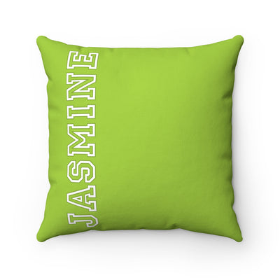 Personalized Name Pillow - Green