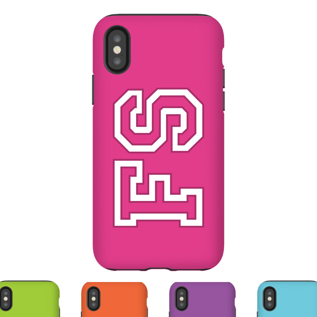 Team Bold Monogram Phone Case