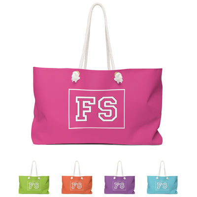 Team Bold Personalized Travel Bag
