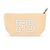 Monogram Makeup Bag - Cream
