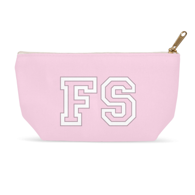 Monogram Makeup Bag - Pink