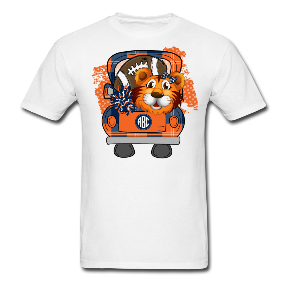 Tiger Football Tailgate Truck Shirt with Monogram