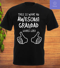 Load image into Gallery viewer, Awesome Grandad T Shirt or Vest Christmas Fathers Day Birthday Gift Tee Top