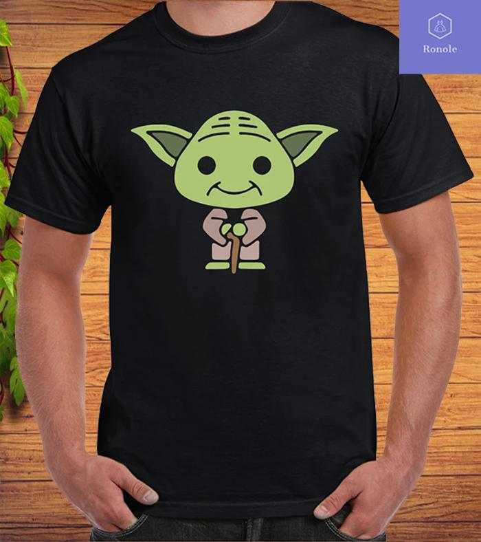 Baby Yoda Cool Sci-fi Movie Mandalorian the Child Gift T-shirt