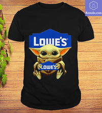 Load image into Gallery viewer, Baby Yoda Hug Lowe's Limited Edition T-Shirt