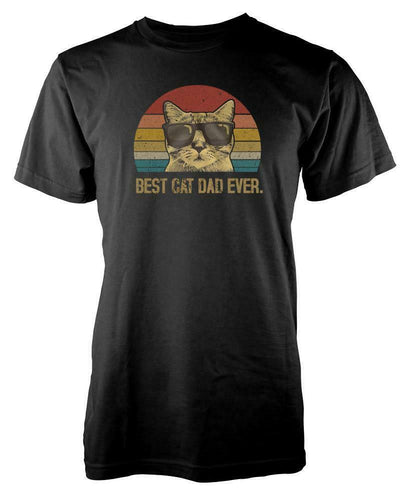 Best Cat Dad Ever Pussy Kitty Fathers Day T Shirt