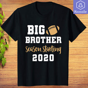 Big Brother Football Pregnancy Announcement T-Shirt