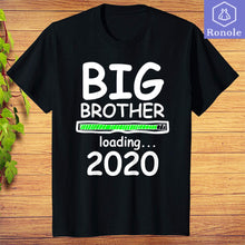 Load image into Gallery viewer, Big Brother Loading 2020 Pregnancy Announcement Boys T-Shirt