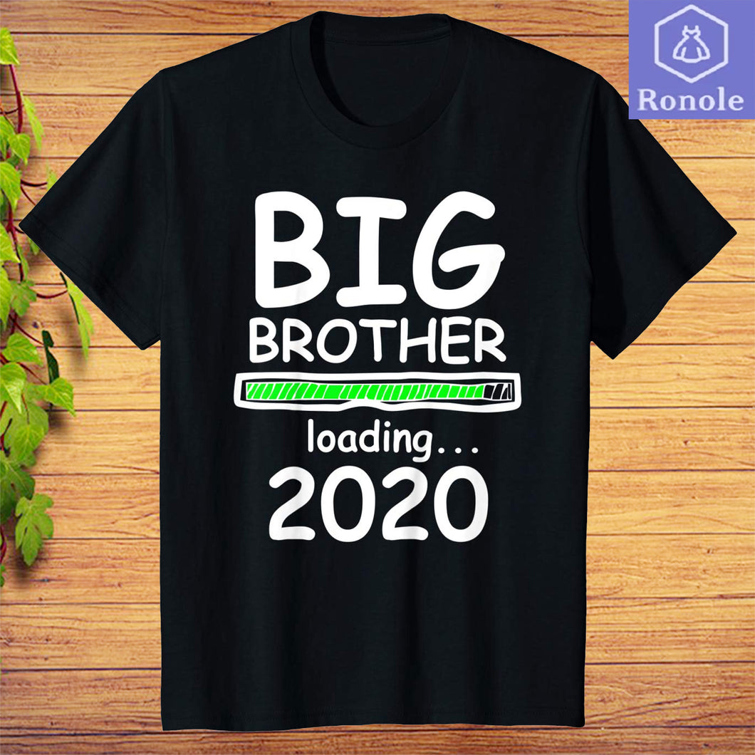 Big Brother Loading 2020 Pregnancy Announcement Boys T-Shirt
