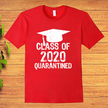 Load image into Gallery viewer, Class of 2020 Quarantined Graduating Class in Quarantine T-shirt