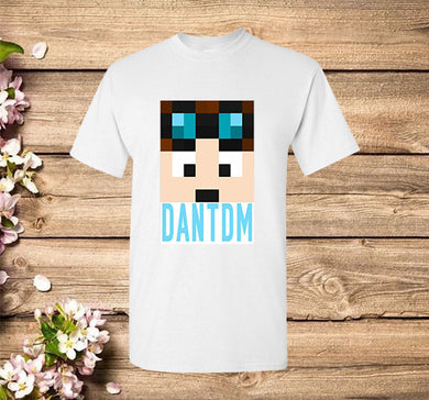 Dan TDM and Stampy Cat Children Funny T-shirt