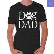 Load image into Gallery viewer, Dog Dad Fathers day T Shirt