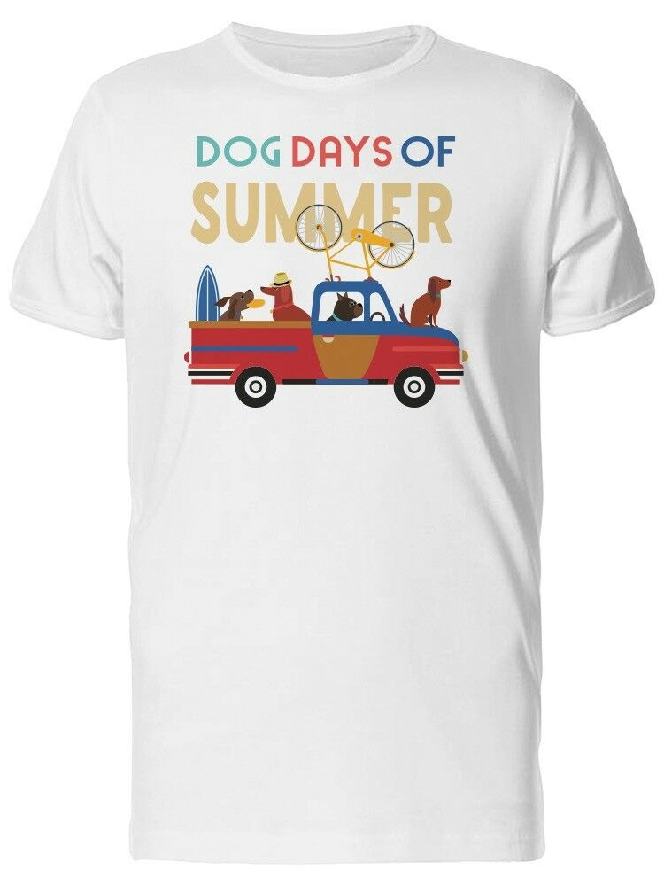 Dog Days Of Summer Travel Men T Shirt