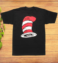 Load image into Gallery viewer, Dr Seuss The Cat In The Hat Top Hat T-Shirt