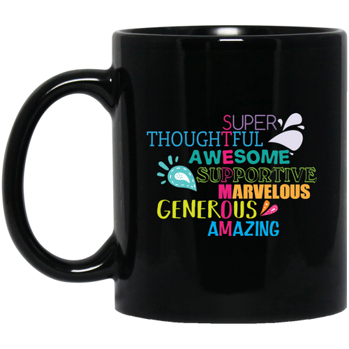 Step Mom Crossword Coffee Mug