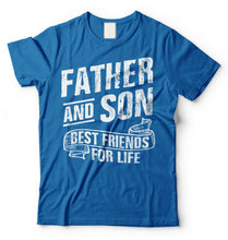 Load image into Gallery viewer, Dad and Son Fathers Day T-shirt