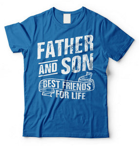 Dad and Son Fathers Day T-shirt