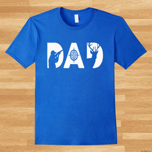 Fathers Day Shirt  Dad Hunting T-Shirt