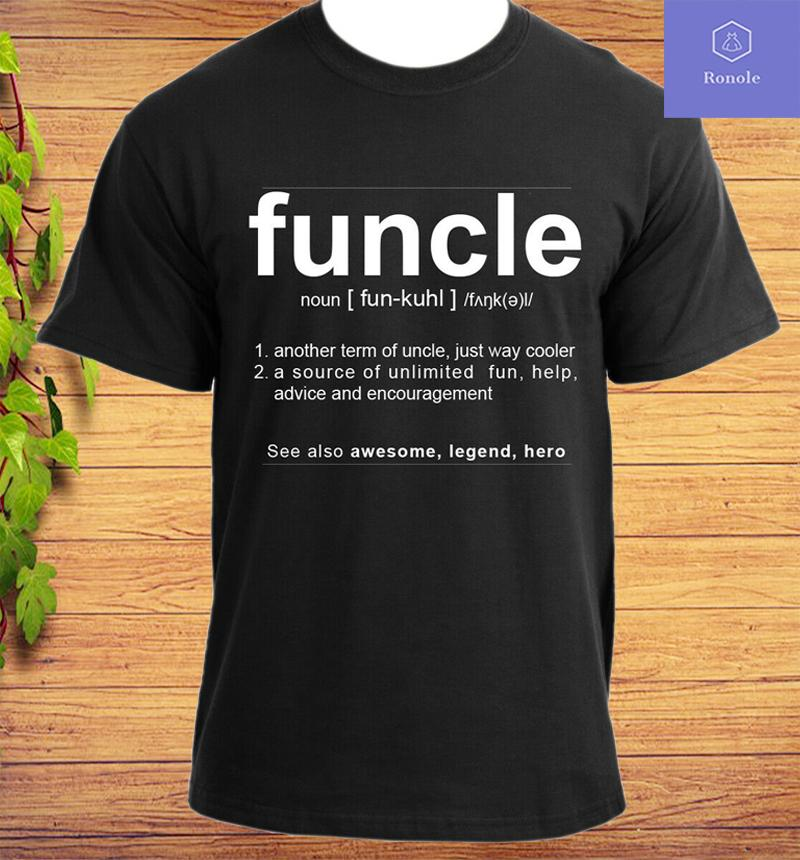 Funcle Uncle Gift Idea Novelty T-Shirt