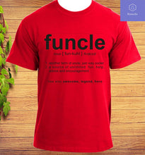 Load image into Gallery viewer, Funcle Uncle Gift Idea Novelty T-Shirt
