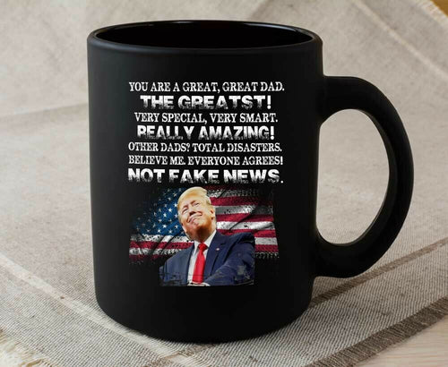 Funny Donald Trump Father's Day Coffee Mug