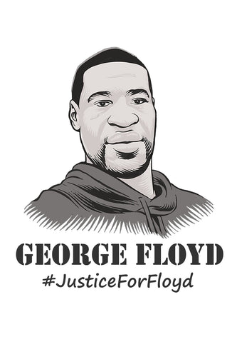 George Floyd Justice for Floyd Poster