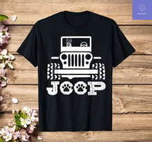 Load image into Gallery viewer, German Shepherd Tee, Riding On Jeep Dog Lover Gift Men Women T-Shirt