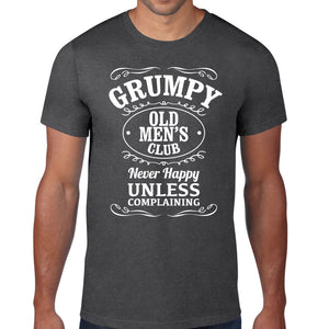 Grumpy Old Mens Club Fathers Day T-Shirt
