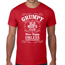 Load image into Gallery viewer, Grumpy Old Mens Club Fathers Day T-Shirt