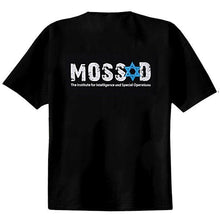 Load image into Gallery viewer, Israel Mossad T-Shirt Black