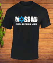 Load image into Gallery viewer, Mossad Anti-terror unit Secret Service T-Shirt