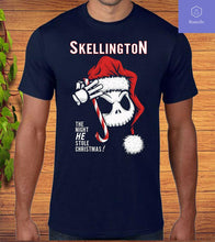 Load image into Gallery viewer, Jack Skellington Santa Christmas T-Shirt