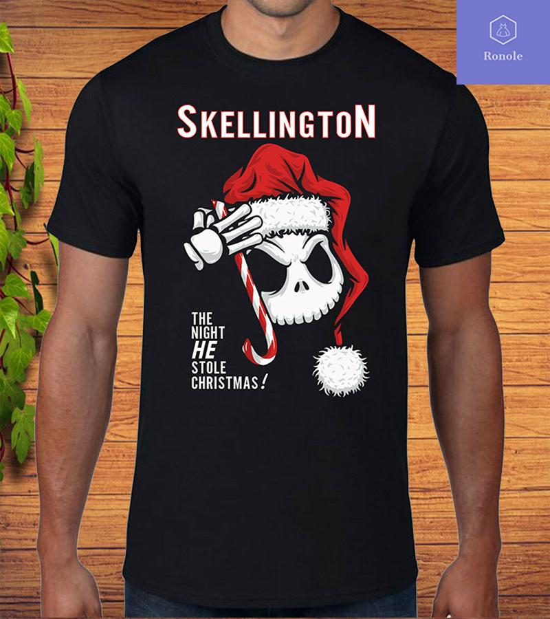 Jack Skellington Santa Christmas T-Shirt