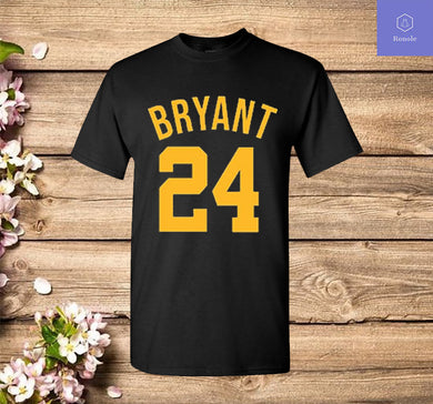Kobe Bryant Shirt GOAT Black Mamba Los Angeles Basketball 24 T Shirt