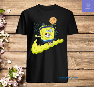 Kyrie Irving Basketball SpongeBob T Shirt