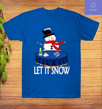 Load image into Gallery viewer, Let It Snow-Winter Holiday Season Santa Cocaine T-Shirt