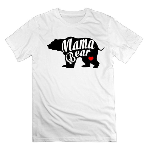 Mama Bear Love Cotton Gift Mothers Day, Birth Day T-Shirts