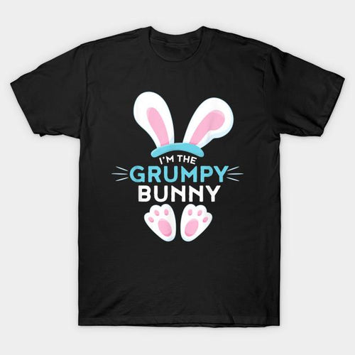 Matching Family Easter T-Shirts - I'm the Grumpy Bunny