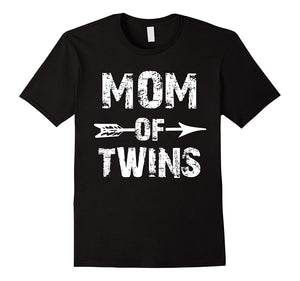 Mom Of Twins Mother T-Shirt Mothers Day Gifts Ideas