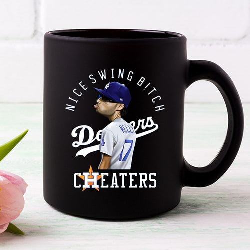 Nice Swing Bitch Joe Kelly Dodgers Coffee Mug
