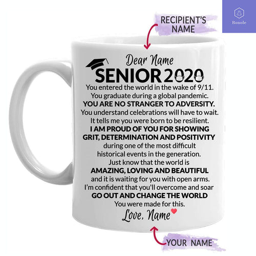 Personalized High School Class Of 2020 For Graduating