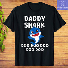 Load image into Gallery viewer, Pinkfong Daddy Shark Doo Doo Doo Official T-shirt