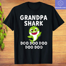 Load image into Gallery viewer, Pinkfong Grandpa Shark Doo Doo Doo Official T-shirt