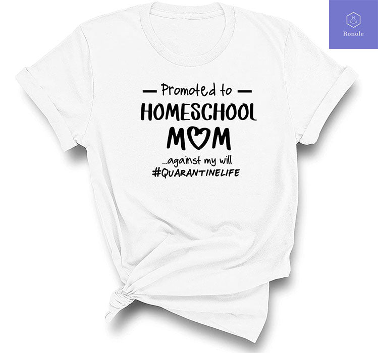 Promoted to Home School Mom 2020 Social distancing