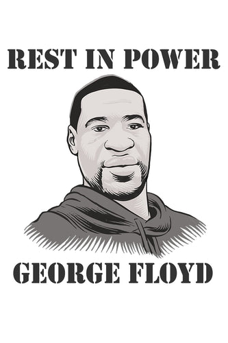 Rest In Power George Floyd Poster