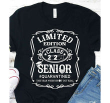 Load image into Gallery viewer, SENIOR 2020 Class of Quarantined Corona T-Shirt